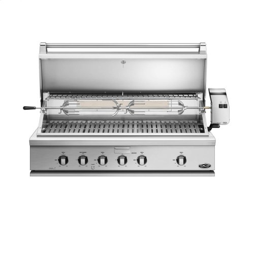 """48"""" Traditional Grill With Rotisserie"""