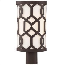 Libby Langdon for Crystorama Jennings Outdoor 1 Light Post