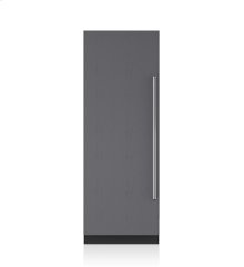 "30"" Designer Column Freezer with Ice Maker - Panel Ready"