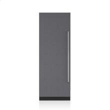 "30"" Designer Column Freezer with Ice Maker - Panel Ready"