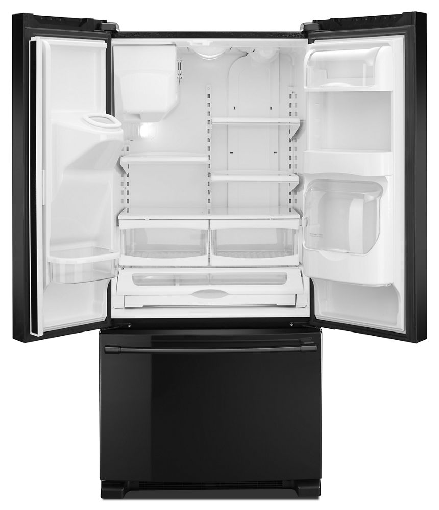 Mfi2269frbmaytag 33 Inch Wide French Door Refrigerator With