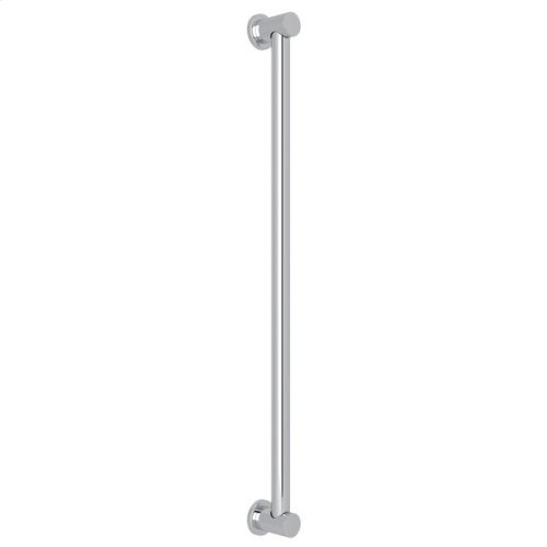 "Polished Chrome 36"" Decorative Grab Bar"