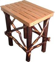 Side Table; Hickory/Oak Product Image