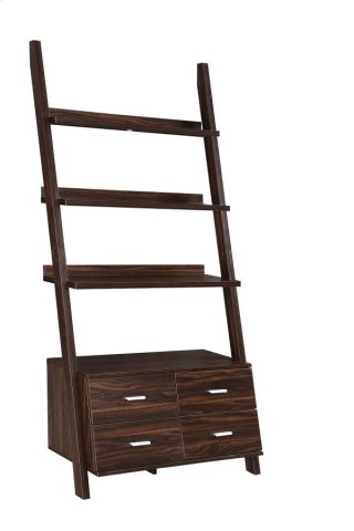 Potter Ladder Bookcase W/ Storage