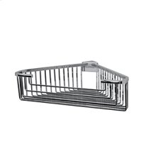 Essentials Detachable Corner Basket, Square Profile, Large