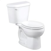 Colony Round Front Toilet - 10 Inch Rough-in - 1.6 gpf - White