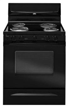 "Whirlpool® 30"" Standard Clean ADA Compliant Freestanding Electric Coil Range"