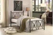 Twin Metal Platform Bed