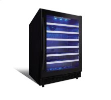 """SSWC056DB -24"""" BUILT IN SINGLE ZONE WINE CENTER (BLACK) - AVAILABLE AT EDMOND LOCATION ONLY!"""