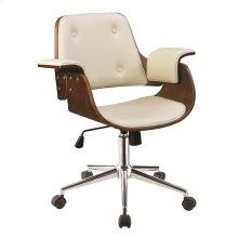 Mid-century Modern Walnut Office Chair