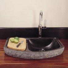 Drop-in Bar Sink Beige Granite