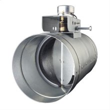 """8"""" Automatic Make-Up Air Damper - Direct Wire"""