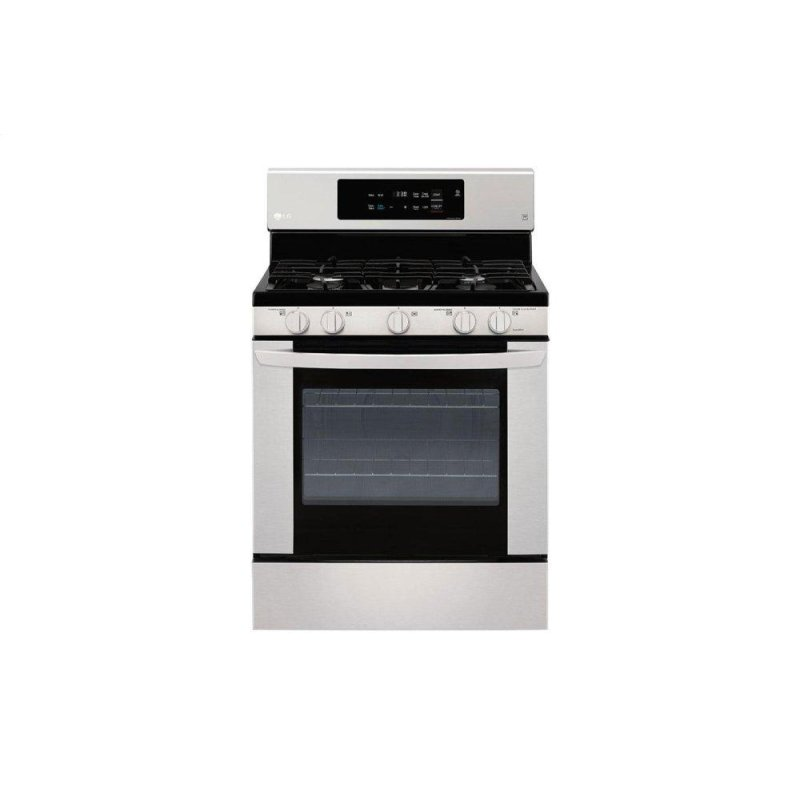 5.4 cu. ft. Gas Single Oven Range with EasyClean(R)