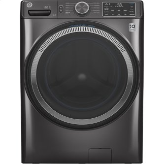 GE™ 5.5 cu. ft. (IEC) Capacity Washer with Built-In Wifi Diamond Grey - GFW550SMNDG