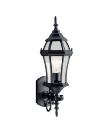"Townhouse 21.5"" 1 Light Wall Light Black"