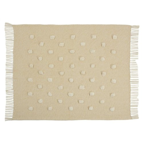 "Throw Sh019 Mustard 50"" X 60"" Throw Blanket"