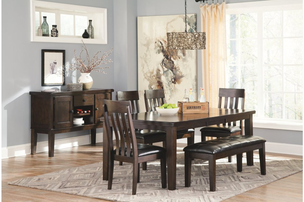 Ashley Furniture Large Uph Dining Room Bench