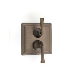 Bronze Hudson (Series 14) Dual Control Thermostatic with Diverter and Volume Control Valve Trim