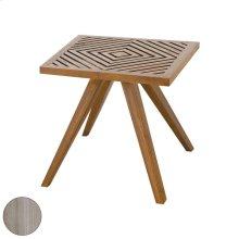 Teak Patio Side Table