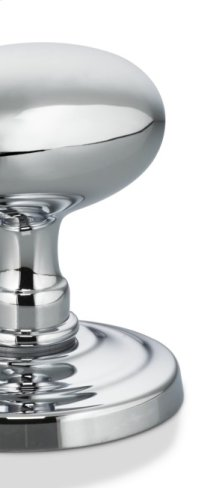 Traditional Narrow Plate Lever Latchset in US26 (Polished Chrome Plated)