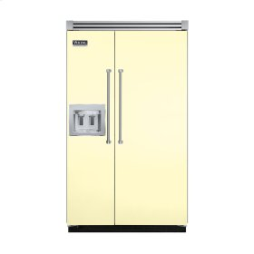 "Lemonade 48"" Quiet Cool™ Side-by-Side with dispenser - VISB Tru-Flush™ (48"" wide)"