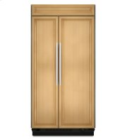 **DISPLAY MODEL CLOSEOUT** 25.5 Cu. Ft. 42-Inch Width Built-In Side-by-Side Refrigerator, Overlay Panel-Ready - Panel Ready
