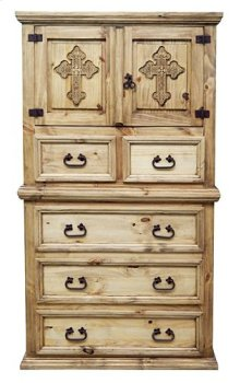 Mansion Chest W/ Cross