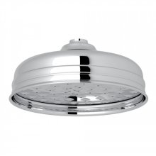 "Polished Chrome Perrin & Rowe 5"" Rain Showerhead"
