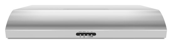 36-Inch Convertible Under-Cabinet Hood 350 CFM - stainless_steel
