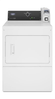 Commercial Electric Super-Capacity Dryer, Coin Slide-Ready