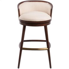 Chronograph Polero Swivel Bar Stool