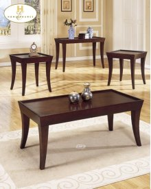 3-Piece Occasional Tables Cocktail Table: End Table: