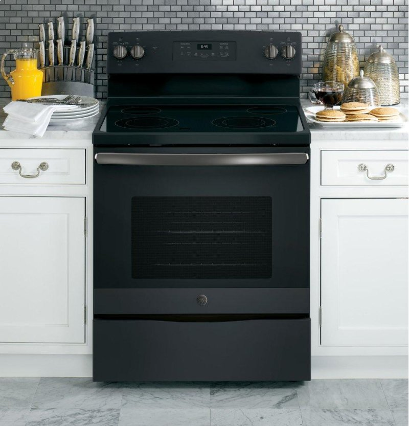 JB645FKDS in Black Slate by GE Appliances in Tampa, FL - GE® 30 ...