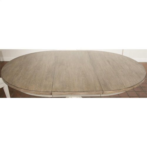 Myra - Table Base - Natural/paperwhite Finish