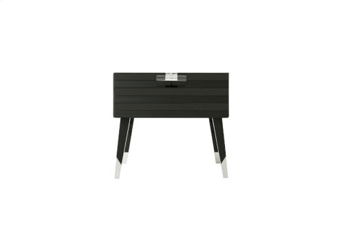 Surface Nightstand - Stainless Accents