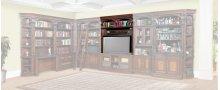 "60"" Bookcase Bridge, Shelf & Back Panel"