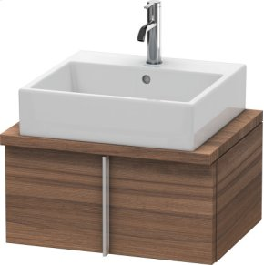 Vero Vanity Unit For Console Compact, Natural Walnut (decor)