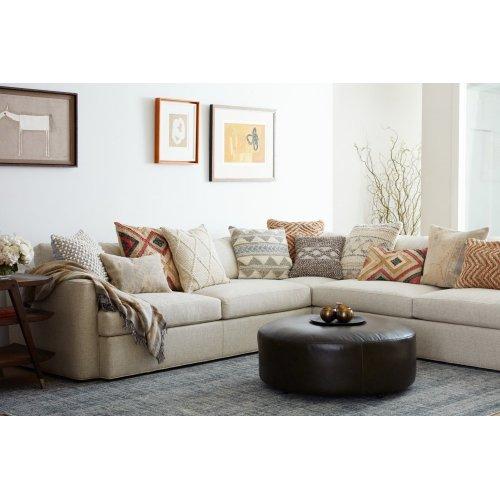 Ed Grey / Beige Pillow
