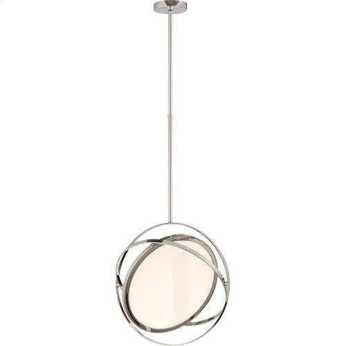 Visual Comfort PB5115PN Peter Bristol Orbit LED 19 inch Polished Nickel Pendant Ceiling Light