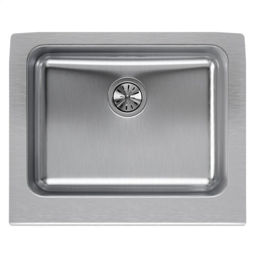 "Elkay Lustertone Classic Stainless Steel 25"" x 20-1/2"" x 7-7/8"", Single Bowl Farmhouse Sink"