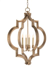 Sculptural Four-Light Chandelier