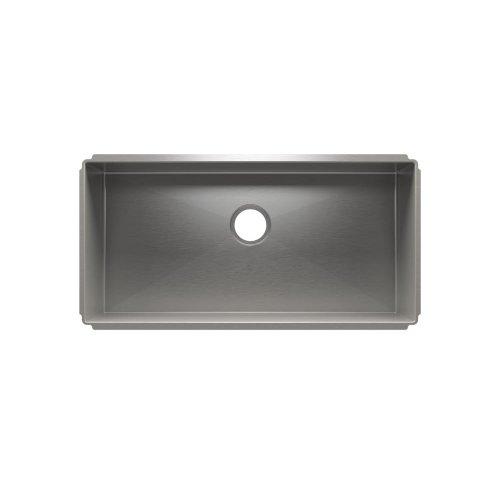 """J7® 003995 - undermount stainless steel Kitchen sink , 33"""" × 16"""" × 8"""""""