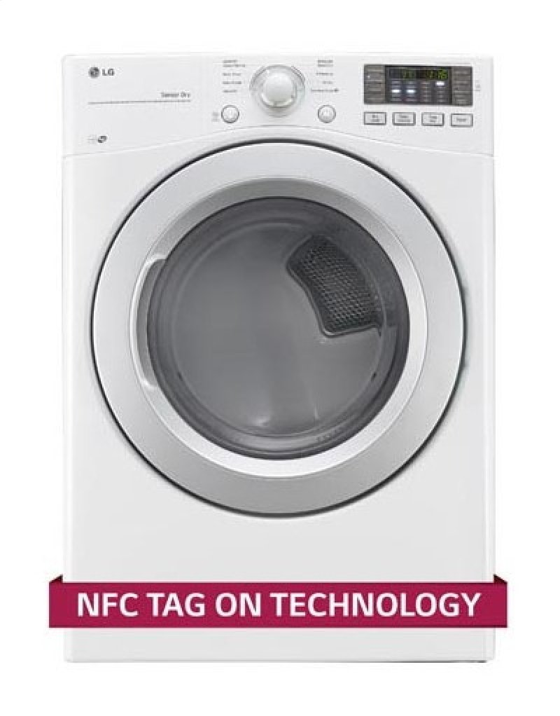 DLG3171W in White by LG in Ithaca, NY - 7 4 cu  ft  Ultra