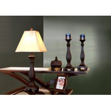 LAMP - 5PCS GIFT BOX / BLACK LAMP-BOWL-FRAME-CANDLESTICKS