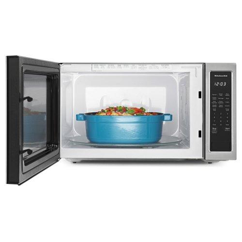 "24"" Countertop Microwave Oven - 1200 Watt - Stainless Steel"