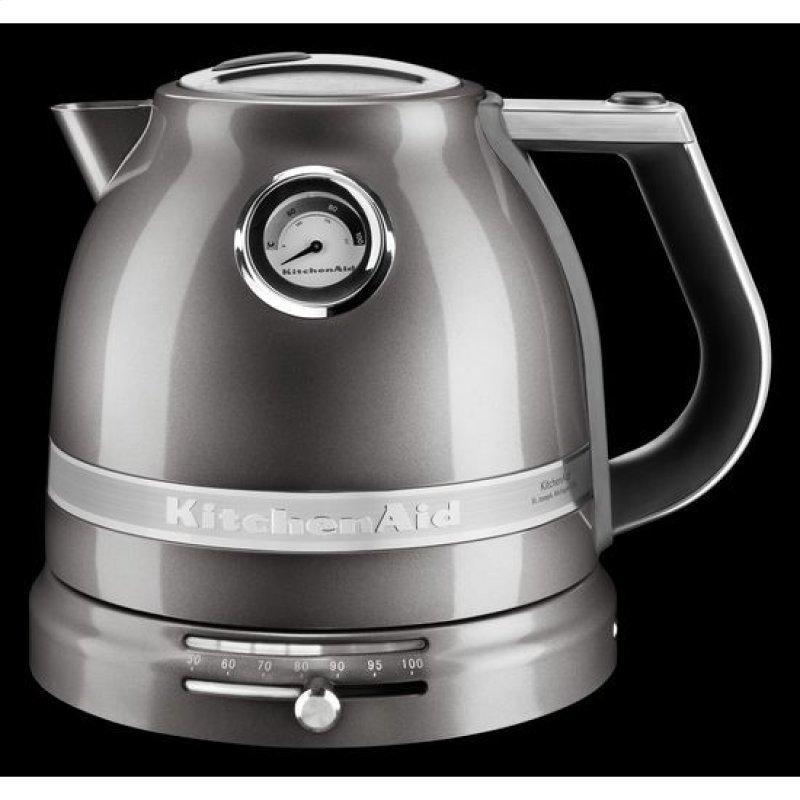 Kitchenaid 1 5 L Pro Line Series Electric Kettle Medallion Silver