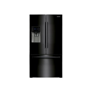 25 cu. ft. French Door with External Water & Ice Dispenser - BLACK
