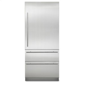 "Viking36"" Virtuoso Fully Integrated Bottom-Freezer Refrigerator, Right Hinge/left Handle"