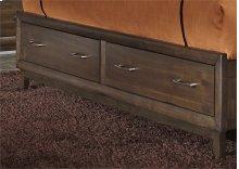 King Storage Footboard
