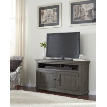 "54"" Console - Distressed Dark Gray Finish"